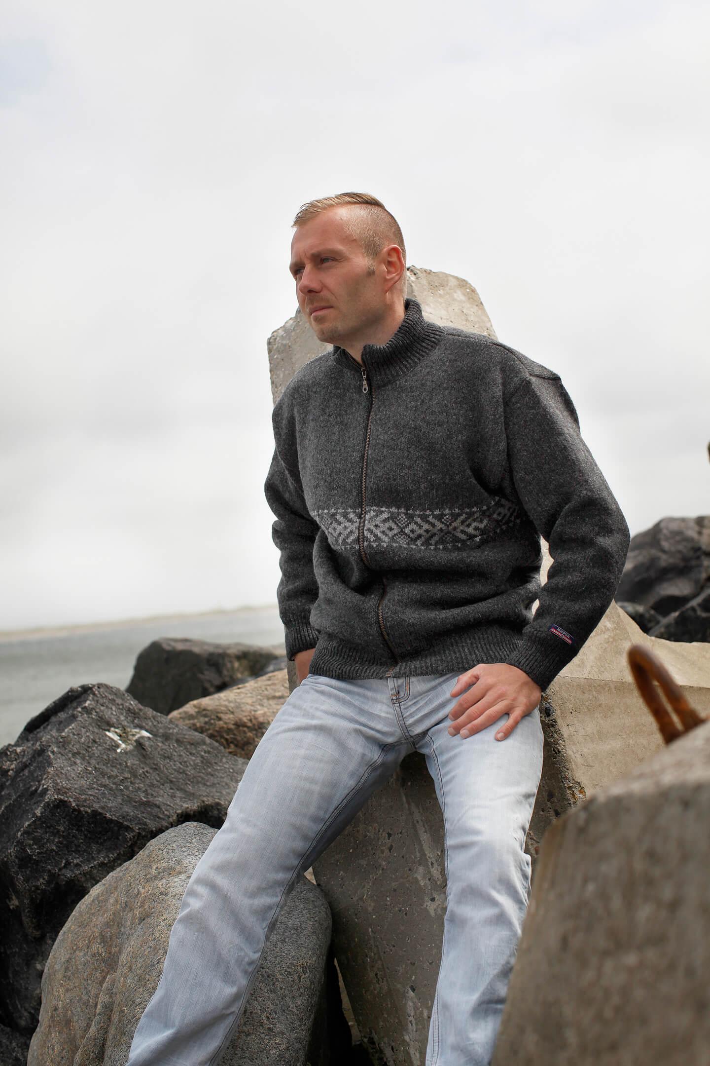 Original norsk yllekofta från Norwool av 100% ren ny ull