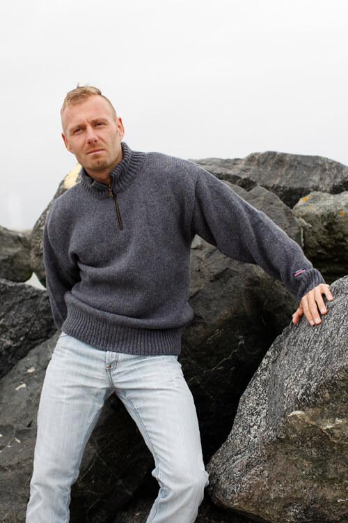 Classic norsk ylletröja i 100% ren ull från Gjestal of Norway